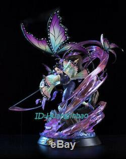 Démon Slayer Kochou Shinobu Figure Résine Modèle Painted Statue Mise Au Point Sur Gk Anime