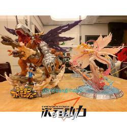 Digimon Adventure Angewomon Yagami Hikari Statue Modèle Prélaqué Vente Figure
