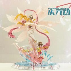 Digimon Aventure Angewomon Yagami Hikari Statue Modèle Peint Figure En Stock