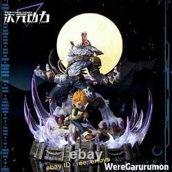 Digimon Aventure Ishida Yamato Garurumon Statue Modèle Peint Figure Anime 14