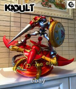 Digimon Dukemon Résine Figurine Modèle De Statue Peint Anime Kidult De Marque Kidult