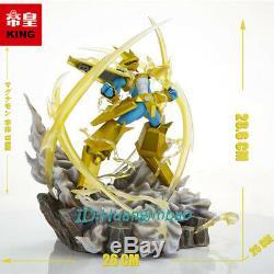 Digimon Magnamon Figure Résine Modèle Peint Statue Studio King Précommandez Anime