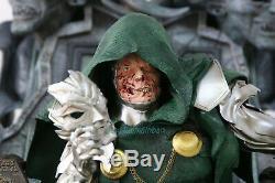 Docteur Doom 1/4 Statue Échelle Trône De Collection Figure Modèle En Résine Gk En Stock
