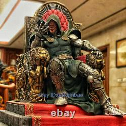 Doom Résine Modèle Peint Statue Pré-commande Sur Mesure Trône 1/4 Large