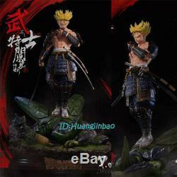 Dragon Ball Trunks Statue Résine Figure Modèle Peint Samouraïs Précommandez Nouveau Costume
