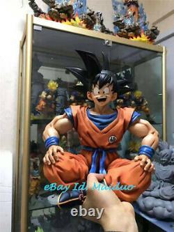 Dragon Ball Z Sangoku Statue Sitting Résine Modèle Figure Classe Réplique Nouveau