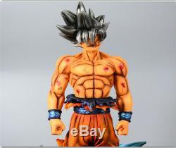 Dragon Ball Z Sangoku Super Clé De Résine Figure Égoïsme Statue Modèle Figurines