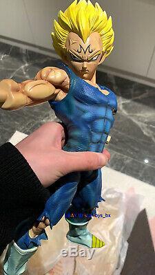 Dragon Ball Z Vegeta Statue Modèle Résine Gk Figurine D'éclairage 1/4 Figure En Stock