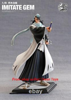 En Stock New Bleach F. O.c Studio Byakuya Kuchiki Foc Figure Model