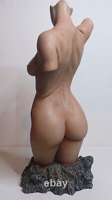 Erotic Nu Female Torso Color Edition Jaydee Models Sculpture Jonathan Dewar