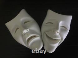 Erotic Nu Female Torso Tragedy Comedy Jaydee Models Sculpture Jonathan Dewar