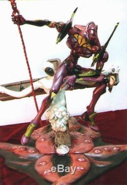 Eva-01 Avec Longin Et Evangelion Unpainted Statue Lilith Figure Modèle Résine Kit