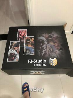 F3 Studio D Luffy Figure Singe Quatrième Vitesse Ver. Big Fist Gk Modèle En Stock Hot