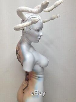 Femme Érotique Imaginaire Torse Medusa 14 Modèles Échelle Jaydee Sculpture Dewar
