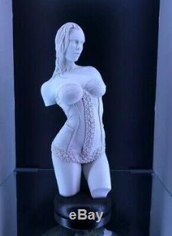 Femme Érotique Torse Burlesque Jaydee Modèles Sculpture Jonathan Dewar