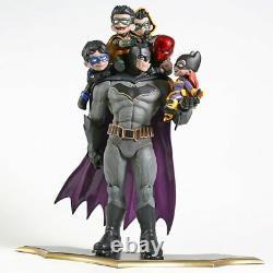 Figurine Batman Robin Famille Statue Modèle Jouet Bd Cadeau Jouet Jouet