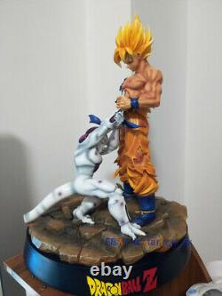 Figurine Instock Dragon Ball 1/6 Son Goku Frieza Modèle Resin Statue 16''h Figure