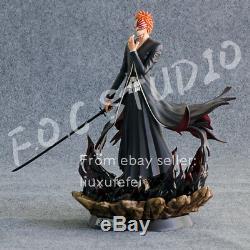 Foc Bleach Sculpture Figure Modèle Kurosaki Ichigo Capitaine