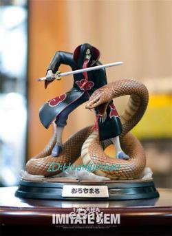 Foc Naruto Orochimaru Akatsuki Peinte Résine Modèle Statue 28cm / 11''h Nouveau