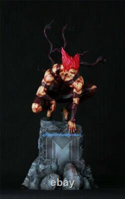 Garou Statue De Résine Peinte Modèle De Figure Palais Trois Têtes En Stock 43cmh Anime