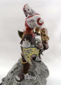 God Of War Kratos 10 Edition Collector Painted Figure Statue Modèle Résine Jouet