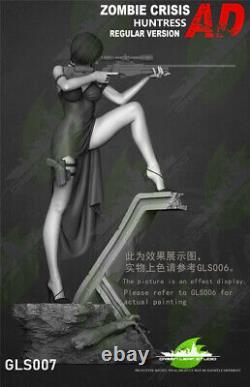 Green Leaf Studio 1/4 Zombie Crisis Huntress Ad Gls007 Figure Statue Modèle Jouet