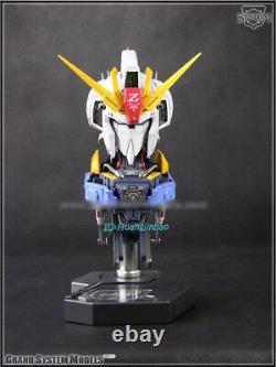 Gsm 1/24 Msz-006 Z Gundam Tête Action Figurine Led Peinte Collection De Modèles De Lumière