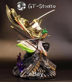 Gts Roronoa Zoro Statue Résine Figure One Piece Collection Modèle Gk Nouveau
