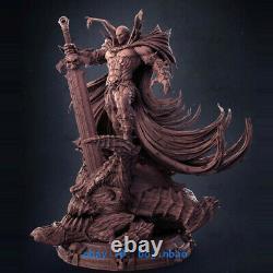 H 32cm Spawn Figure Résine Modèle Kits Unpainted Impression 3d Collection Anime