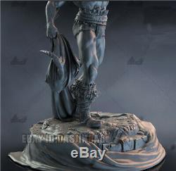H 42cm Unpainted Conan Le Destructeur De Résine Figure Unassembled Modèle D'impression 3d