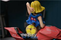 Hobbyhouse Dragon Ball Android 18 Lazuli Résine Figure Sexy Girl Modèle Moteur Gk
