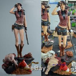 Hot Studio Resident Evil Claire Redfield 1/4 Refonte Modèle En Résine Figure Gk Statue