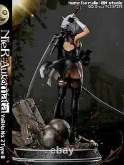 Hunter Fan 2b Nierautomata 1/6 Figure Résine Statue Gk Rabattre Modèle De Précommande