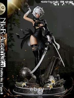 Hunter Fan Nierautomata 2b 1/4 Resin Figure Statue Gk Cast Off Model Pre Order