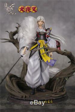 Inuyasha Sesshoumaru Résine Figurine Peinte 1/7 Statue Modèle Limitée Figure Nouveau