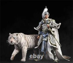 Jxk 1/6 Bengal Tiger White Tiger Figure Animal Model Collector Felid Toy Gift