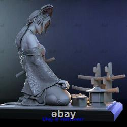 Katsumi Hannya Masque 1/6 Figure Statue Resin Model Kits Impression 3d Non Peinte