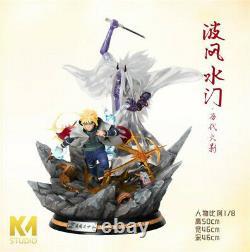 Km Studio Naruto Namikaze Minato Sikifuujin Resin Figure Model Statue En Stock