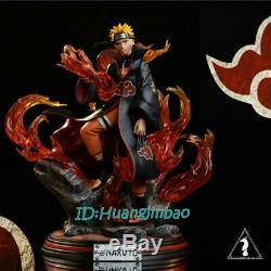 L'obscurité Naruto Uzumaki Dans Akatsuki Costume Résine Figure Modèle Painted Gk Échelle 1/7