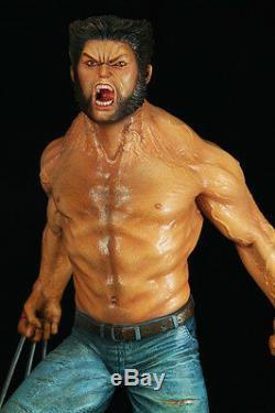 La Logan Wolverine Weapon X 1/4 Originale Figure Résine Modèle Unpainted Kit