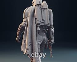 Le Mandalorian Custom Star Wars Resin Model Kit Figure 1/6 30cm