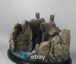 Le Seigneur Des Anneaux Portes D'argonath Modèle 11 Figure Statue Résine Décoration
