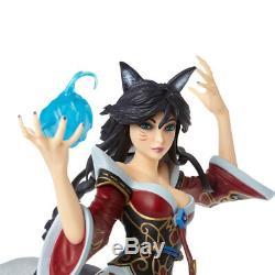 League Of Legends Ahri Statue Limitée D'action Figure Résine À Neuf Queues Modèle Fox