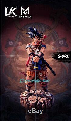 Lk Studio Dragon Ball Sangoku Résine Figure Samurai Model Costume Précommande Peint