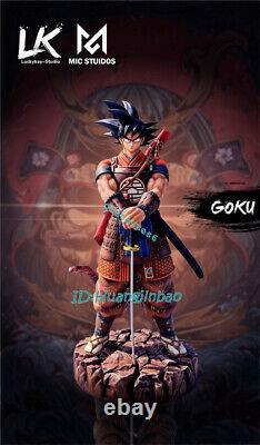Lk Studio Dragon Ball Son Goku Résine Figure Samurai Suit Modèle Peint Pré-commande
