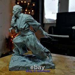 Lone Wolf Et Cub Samura 1/6 Figurine Statue Modèle Résine Kit Non Peint 3d Imprimé