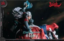 Lseven Naruto Jiraiya Statue En Résine Gama-bunta Figure En Stock Modèle Anime Nouveau