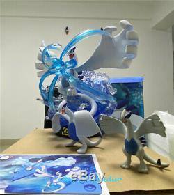 Lugia Statue Modèle Résine Gk Figure Collections Pokémon Egg Studio New 36cm