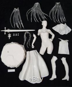 Luz Maléfice Fantasy Girl Nouveau 2013 Luis Royo 1/4 Unpainted Figure Modèle Résine Kit