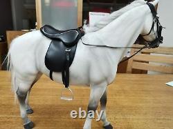 M. Z Allemagne Hanovre Hanovrien Cheval Gris 1/6 Modèle Animal Figure Décoration